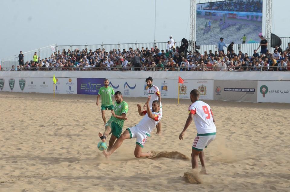 Le Maroc assomme l'Algérie et termine deuxième