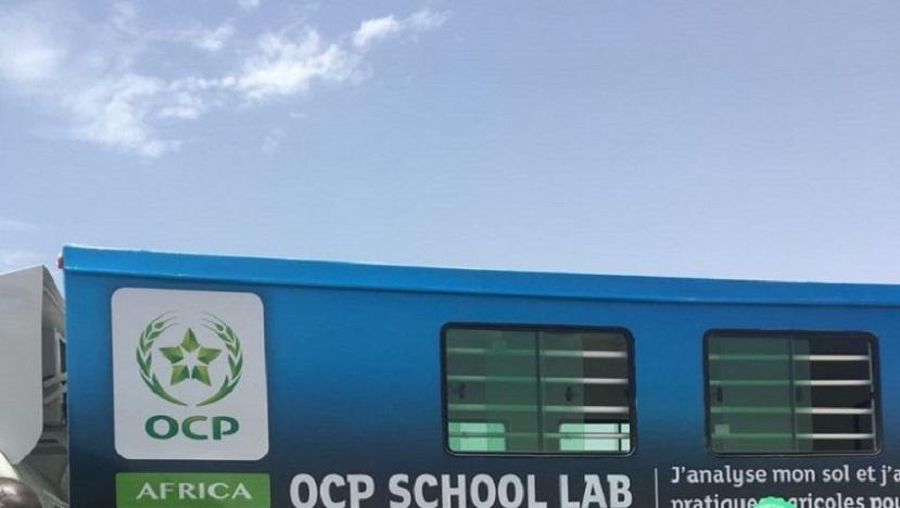 L'OCP School Lab débarque au Ghana