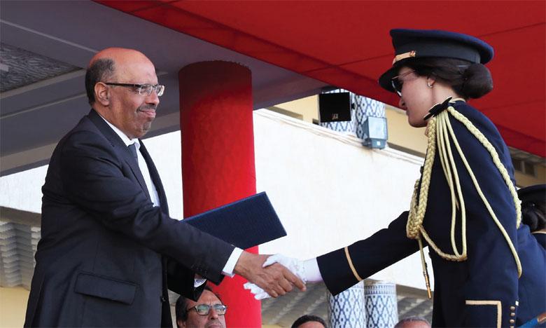 Remise des diplômes aux lauréats de la 54e promotion de l'Institut Royal de l'administration territoriale