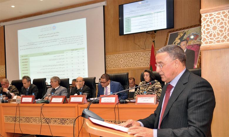 Le Conseil de la région approuve plusieurs projets de développement