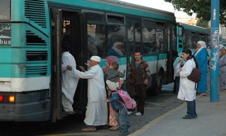 M'dina bus dispose d'un parc vétuste composé de 770 bus d'occasion alors que l'âge de ses bus ne devrait pas dépasser 7 ans. Ph. Saouri