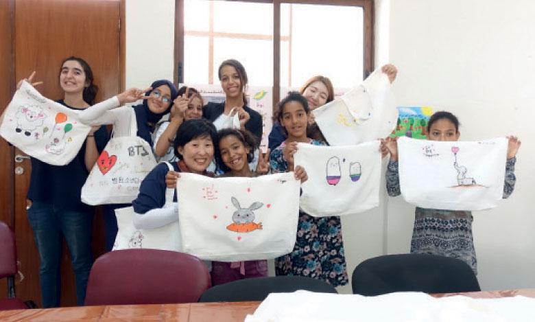 Et de 13 pour la caravane  coréenne «Camp des ailes» !