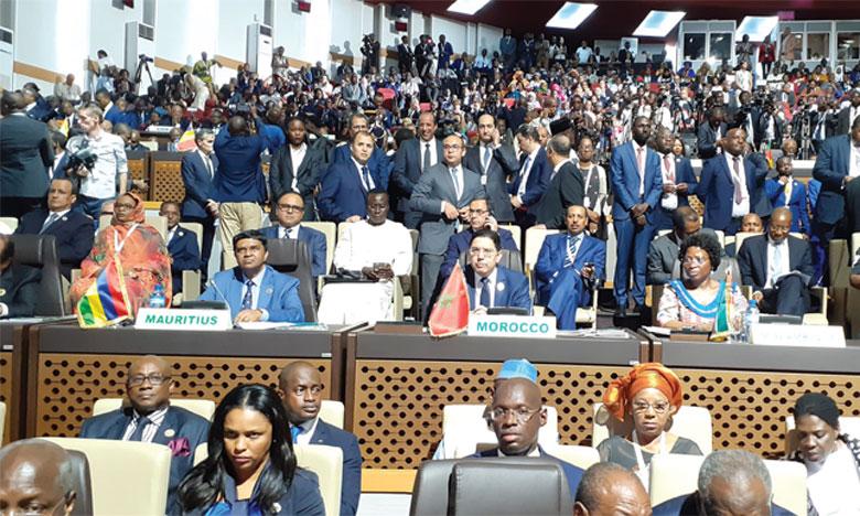 Nasser Bourita : L'opérationnalisation de la Zone de libre-échange continentale africaine s'inscrit parfaitement dans la vision de S.M. le Roi pour une Afrique intégrée et prospère