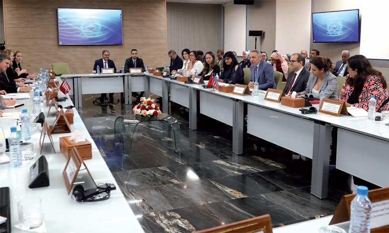 Réunion à Rabat du Comité conjoint chargé du suivi de l'Accord  de libre-échange Maroc-États-Unis