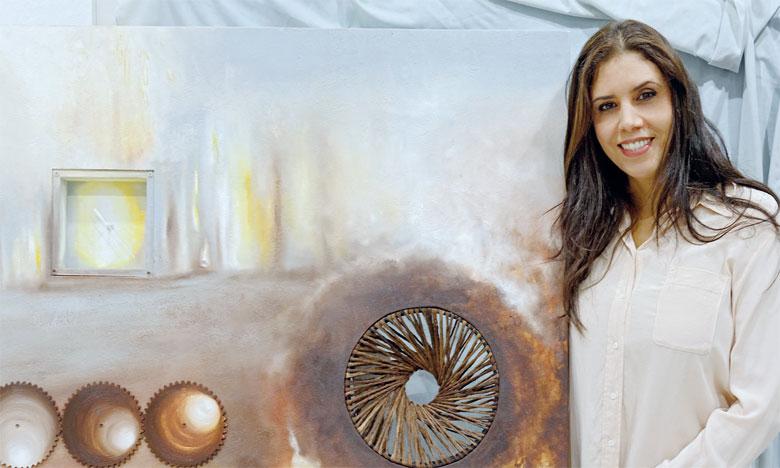 Ilham Laraki Omari participe à l'Art Actuel France-Japon