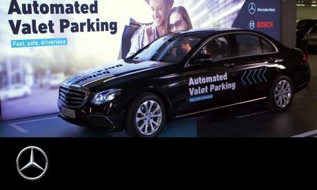 """Parking autonome : Ce que propose """"Automated Valet Parking"""""""