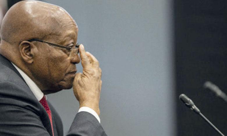 L'ex-président Zuma cesse de coopérer à l'enquête sur la corruption