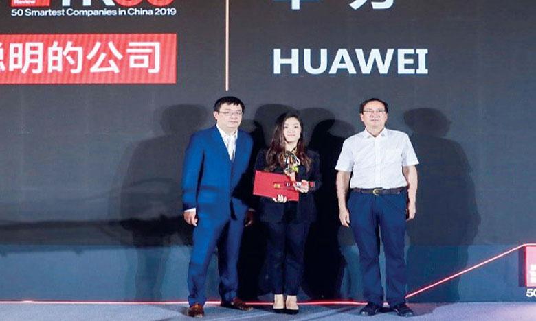 Huawei dans le Top 50 mondial  des entreprises les plus intelligentes