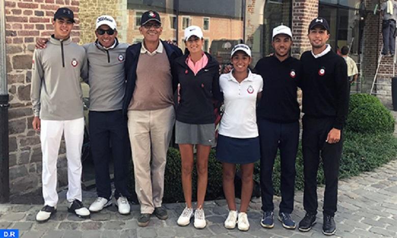 BIAC 2019 de golf: L'équipe nationale (messieurs) sacrée
