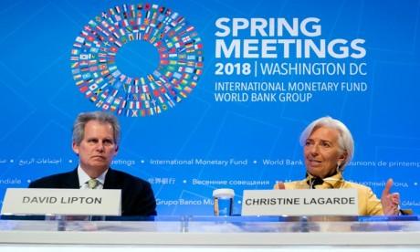 David Lipton remplace provisoirement Lagarde