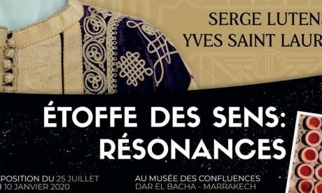Marrakech abrite l'exposition «Étoffe des sens, résonances, Serge Lutens, Yves Saint Laurent»