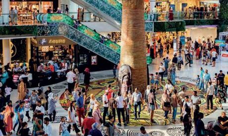 Virée au centres  commerciaux  casablancais