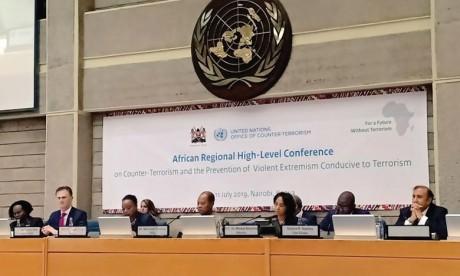 Le Maroc s'engage à partager avec les pays africains son expérience en matière de lutte contre le terrorisme et de prévention  de l'extrémisme violent