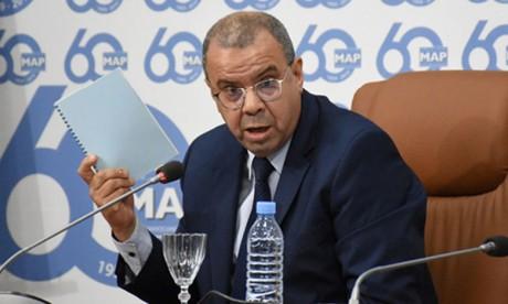 Le délégué interministériel aux droits de l'Homme  présente son rapport