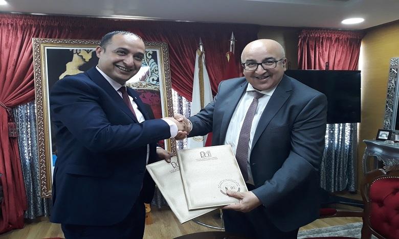 Université Mohammed V de Rabat :  Une nouvelle convention pour promouvoir l'entrepreneuriat