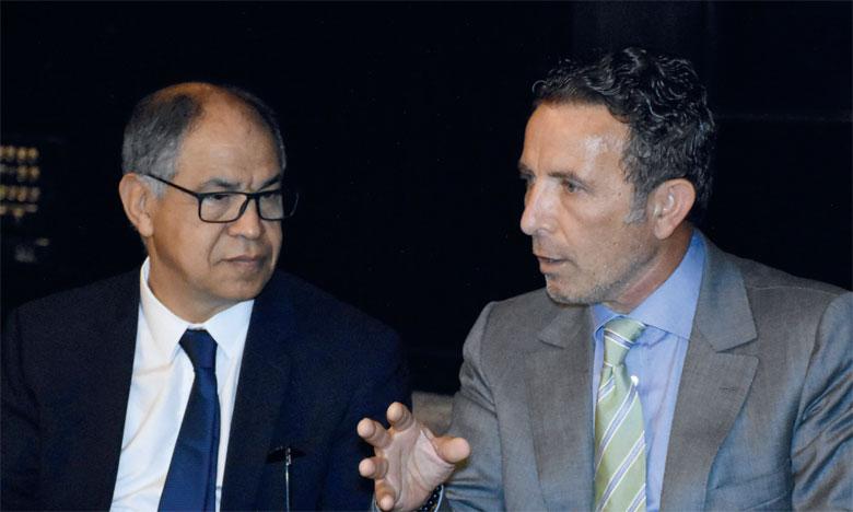 M. Guerraoui a animé, hier, une conférence-débat organisée par la Chambre de commerce suisse au Maroc. Ph. Saouri