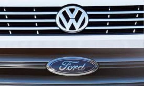 Voitures autonomes  : Ford et Volkswagen étendent leur alliance