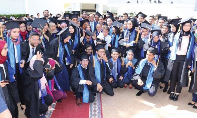 Le Matin - Cérémonie de remise des diplômes  à la 45e promotion de l'École Hassania