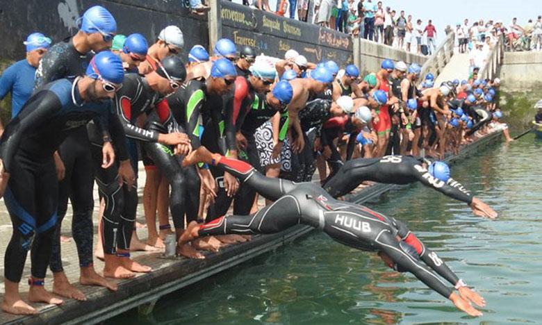 Mohamed Nemsi et Sofie Lambert remportent l'épreuve du triathlon
