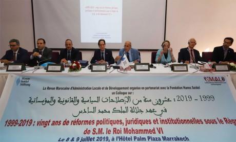 Des intervenants marocains et étrangers mettent en avant l'élan réformiste  de S.M. le Roi Mohammed VI