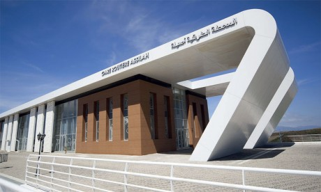 La nouvelle gare routière d'Assilah.