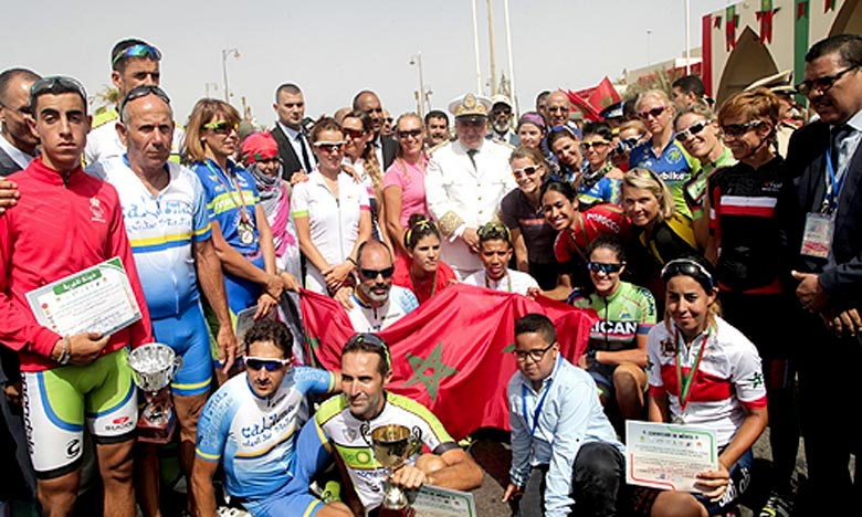 La Marocaine Mouna Benaji a parcouru la deuxième étape de cette course, disputée dans un circuit fermé de 50 km, en 1 h 41 min 15 s. Ph : Archives