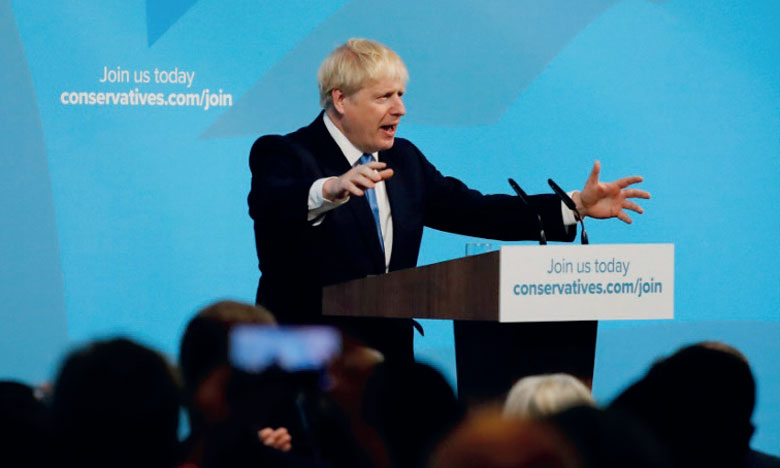 Boris Johnson promet un Brexit le 31 octobre
