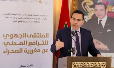 Mustapha El Khalfi met en avant les acquis du Maroc en matière de promotion de la liberté de la presse