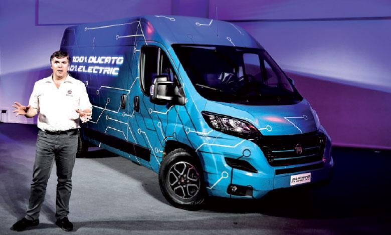Fiat Professional présente le Ducato Electric