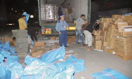 Contrebande : Plus de 2 MDH de marchandises saisies au port de Nador