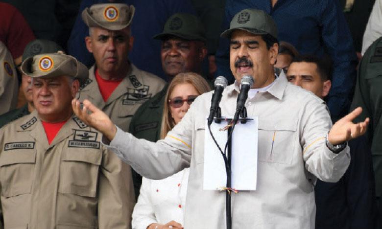 Washington annonce de nouvelles sanctions contre  des militaires proches de Maduro