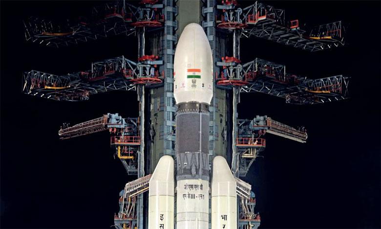 L'Inde lance sa deuxième mission lunaire, Chandrayaan-2