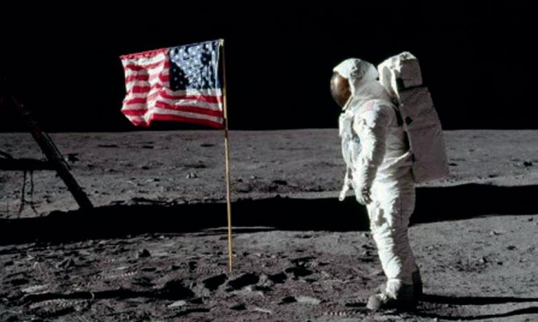 Célébration des 50 ans  du premier pas sur la lune