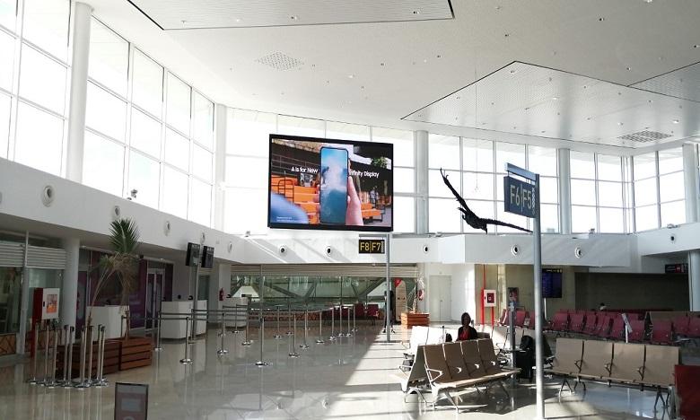 L'aéroport Mohammed V s'équipe d'un nouvel écran LED Samsung