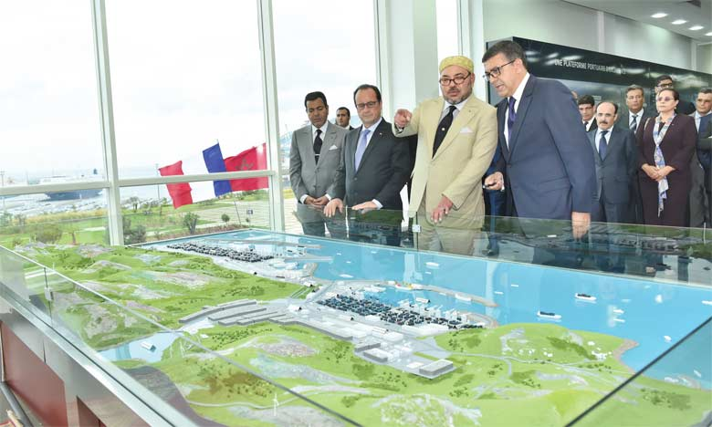 Tanger-Med hisse le Maroc au rang  des grandes nations maritimes