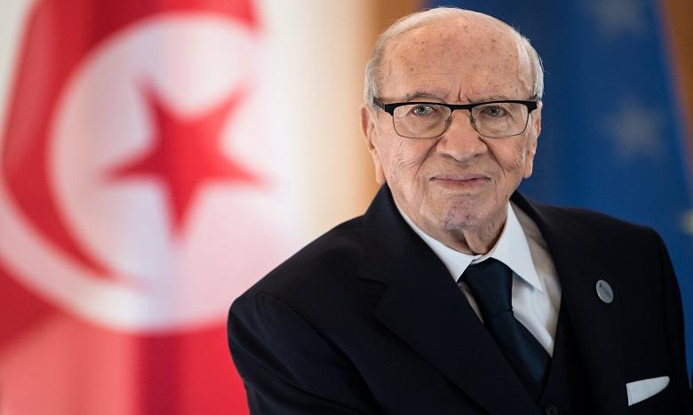 Décès du président tunisien