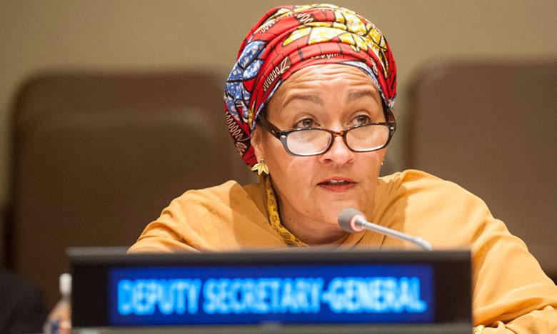 Amina Mohammed, vice-secrétaire générale de l'ONU.