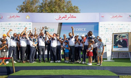 Le club Palm golf Casablanca remporte son premier titre