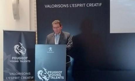 Lancement de «Peugeot Young  Talents»