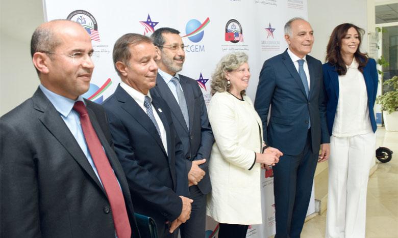 MCA Morocco a présenté, lundi, les projets actuels et futurs du Compact II aux entreprises membres de la CGEM. Ph. Seddik