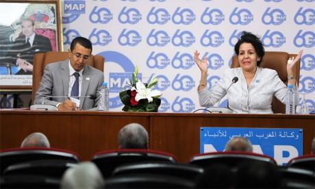 La présidente de la FMEJ appelle à repenser le modèle  de financement de la presse