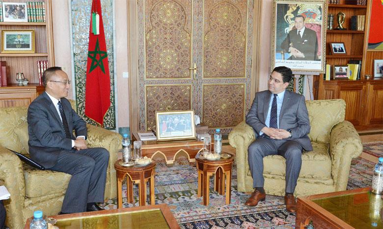 Le vice-ministre chinois des Affaires étrangères : Les relations sino-marocaines ont connu un «développement excellent» depuis la visite de S.M. le Roi Mohammed VI en Chine