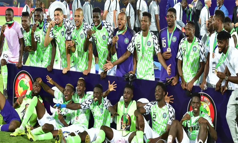 Encore une bourde du gardien tunisien,  la troisième place pour le Nigeria