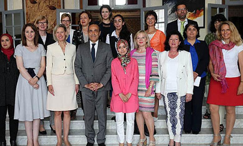 Une délégation parlementaire allemande salue les réformes initiées sous l'impulsion de S.M. le Roi en faveur de la femme