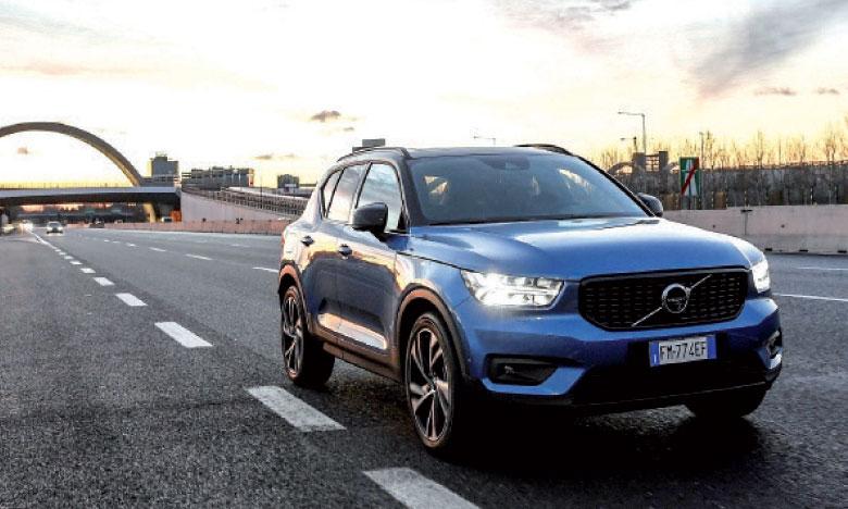 Bénéficiant d'un design très expressif, XC40 place la barre très haut et se distingue parmi les SUV compacts.