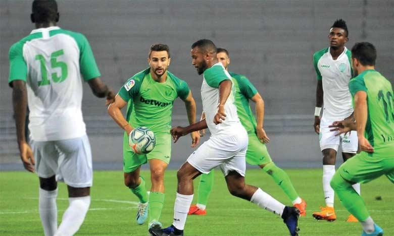 Le Raja fait match nul face à Leganés et officialise le recrutement de Hamid Aheddad