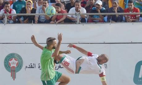 Le Maroc assomme l'Algérie et se classe deuxième
