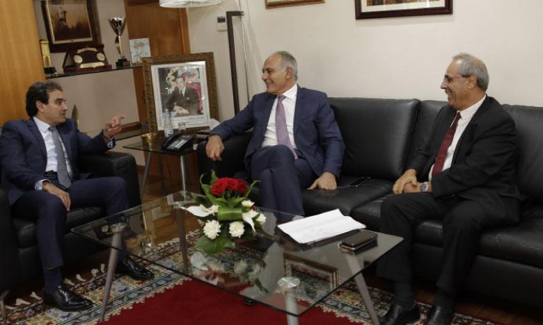Le président de la CGEM s'entretient avec le ministre délégué en charge des MRE