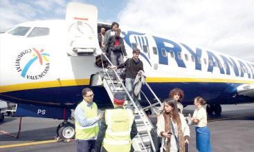 Hausse de 13%  du trafic passager chez Ryanair  en juin