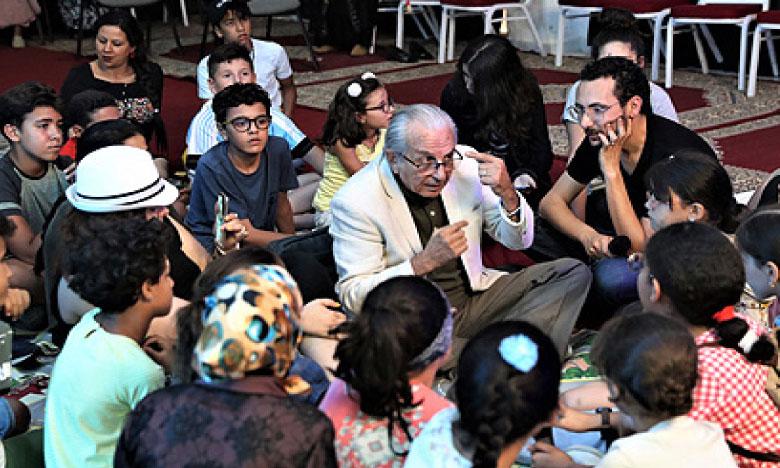 Les enfants de Taza initiés aux métiers du 7e art et de l'audiovisuel